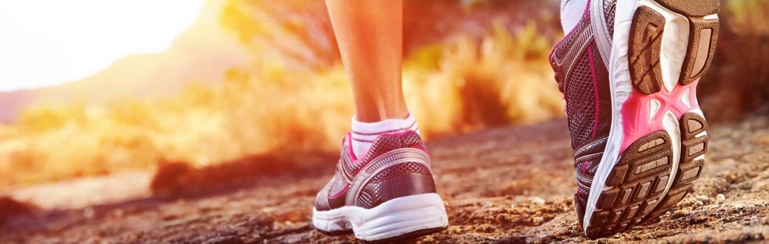 Jogging und Krafttraining im Video